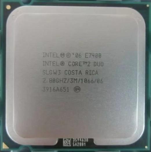 Processador Intel Core 2 Duo E7400 2.8ghz, 3mb, 1066 Mhz