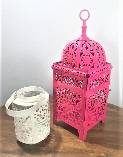 Kit Lanternas Marroquina Rendada
