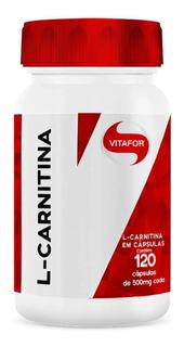 L- Carnitina 120 Cápsulas - Vitafor