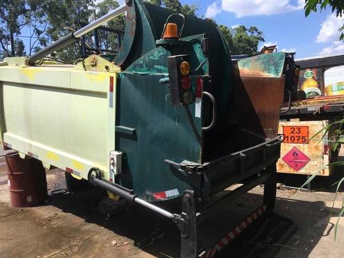 Compactador De Lixo Para Caminhao 3/4 Usimeca Semi Novo