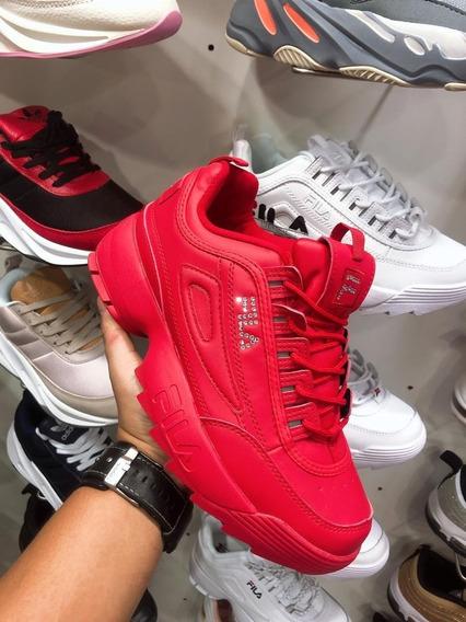 Oferta Zapatos Fila Disruptor Blanco (2019)