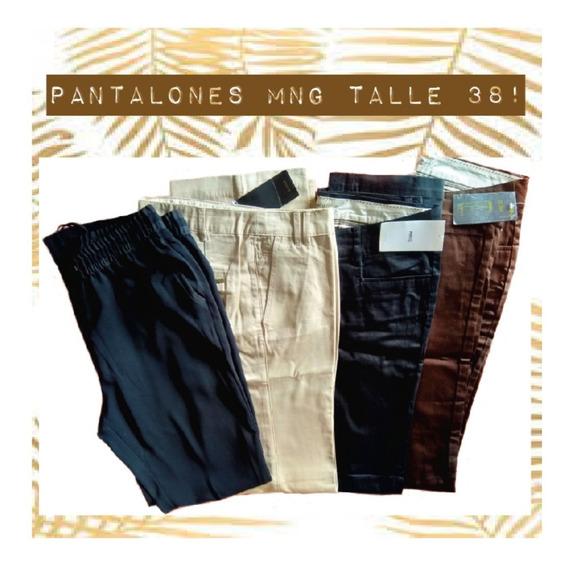 Pantalones Y Babucha Mango Mng Talle 38