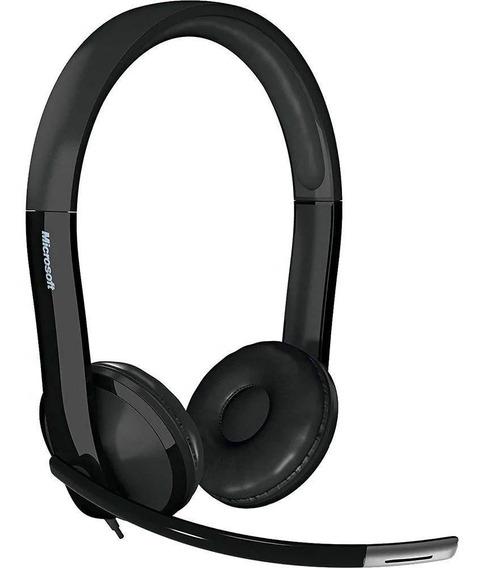 Fone Com Microfone Lx 6000 Usb Microsoft