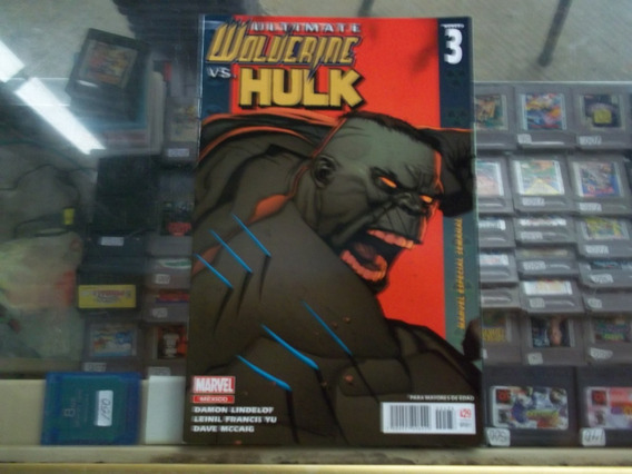 Ultimate Wolverine Vs Hulk #3 Comic Marvel Mexico
