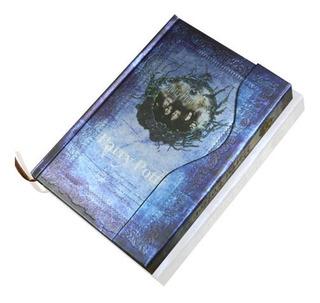 Azul Cuaderno De Harry Potter Planner Regalos Libro Mágico