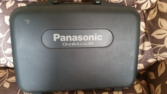 Camera Filmadora Panassonic Vhs Ominimovie Hq Af X8