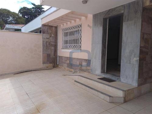 Casa Com 3 Dormitórios À Venda, 172 M² Por R$ 630.000,00 - Jardim Guanabara - Campinas/sp - Ca0316