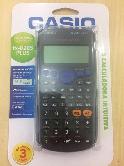 Calculadora Científica Casio Fx82es Plus 3 Anos De Garantia!