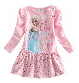 Vestido Elsa De Frozen Exclusivo