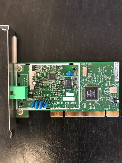 Agere Systems D-1156i/a1a Kb5817 56k Pci Fax Modem Card