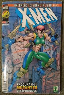 Revista Em Quadrinhos X-men Operação Tolerância Zero