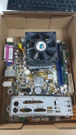 Kit Pcware Apm80-d3 + Phenom Ii X3 710 + 4gb Ddr3 Garantia