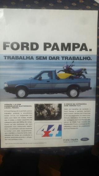 Folder Ford Pampa 4x4
