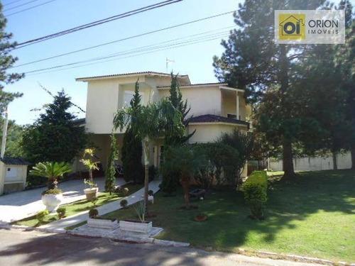 Casa Com 5 Dormitórios À Venda, 550 M² Por R$ 1.800.000,00 - Aldeia Da Serra - Santana De Parnaíba/sp - Ca0120