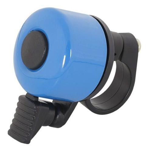 Imagem 1 de 2 de Sininho Campainha Para Bicicleta Bike Rontek Azul