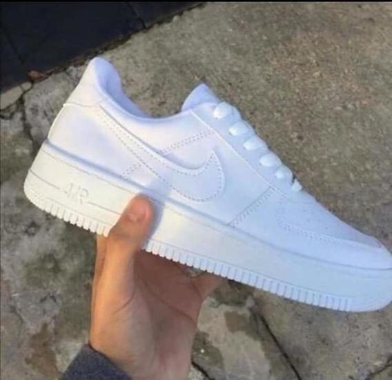 Air Force 1 Nuevas Unisex 35 Al 44 Blancas Nike Economicas