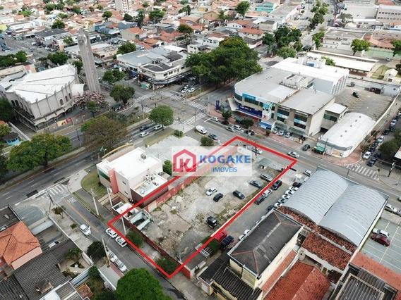 Terreno Para Alugar, 1000 M² Por R$ 18.000,00/mês - Jardim Satélite - São José Dos Campos/sp - Te1009