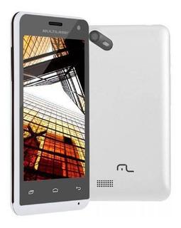 Smartphone Multilaser Ms40s, Branco,tela De 4 , 8gb, 5mp
