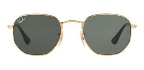 Oculos De Sol Hexagonal Ray Ban Masculino - Feminino