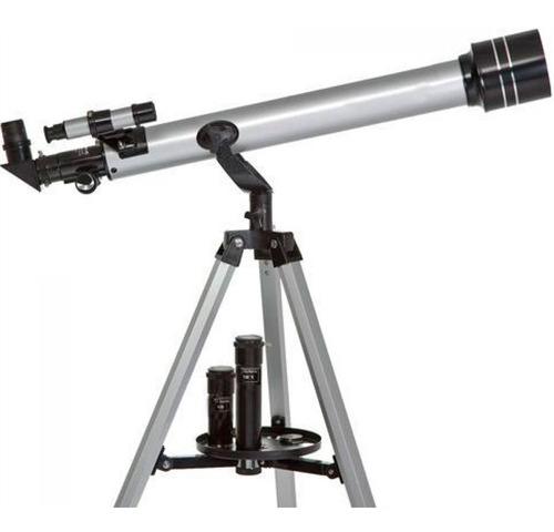 Telescópio Astronômico Refrator Luneta Alumínio 675x 900mm