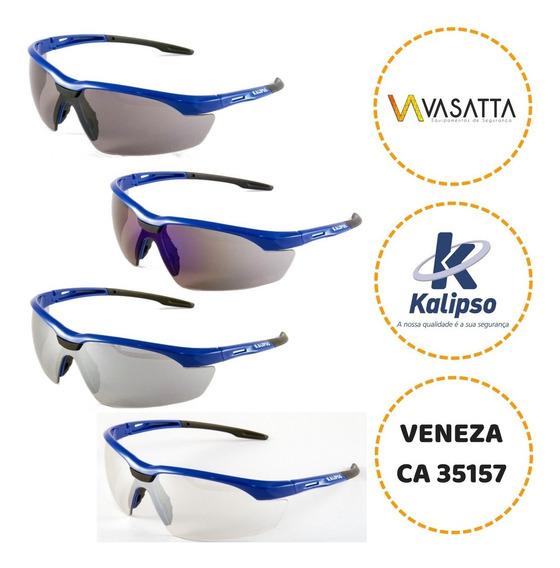 Óculos De Proteção Segurança Kalipso Veneza - 5 Unidades