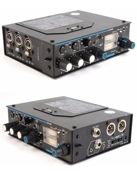 Mixer Profissional Shure Fp33 Broadcast P/ Radio E Tv