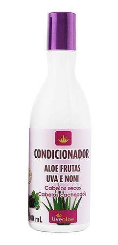 Condicionador Aloe Frutas Orgânico Natural - Live Aloe
