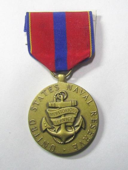 Usa 1990 Condecoracion Orden Al Merito Y Al Servicio Marina