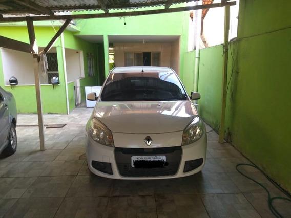 Renaulta Sandero 2012 Motor 1.6 Flex Branco Completo