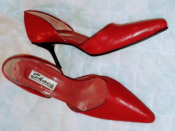 Stilettos Rojos Divinos Nro 36