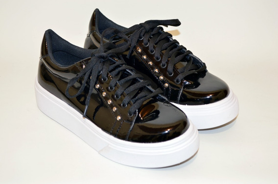 Zapatillas Mujer Charol Zapatos Moda 2020 14ya
