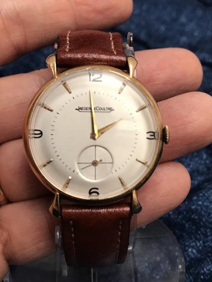 Relógio Nível Ômega Ouro 18k Maciço Jaeger Lecoultre A Corda 33mm (coroa Quase Embutida) Raro - 13 Anos No Mercado Livre