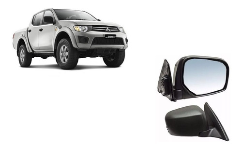 Espejo Izquierdo Mitsubishi L200 Triton 2008/2015 Manual