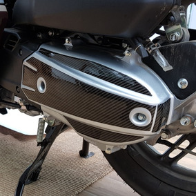 Protetor 3d Adesivo Capa Corrente Correia Moto Honda Pcx 150