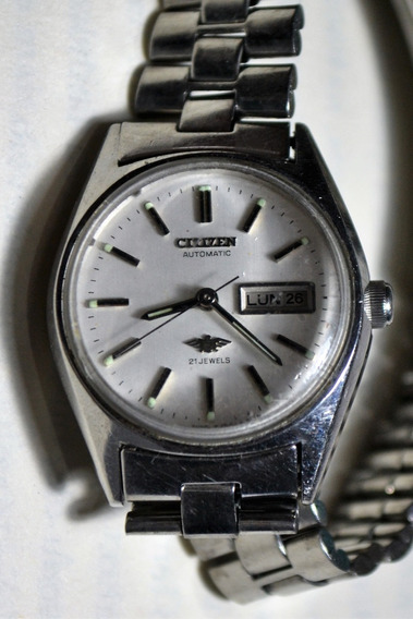 Relógio Feminino Citizen Automatic 21 Jewels 74-7734