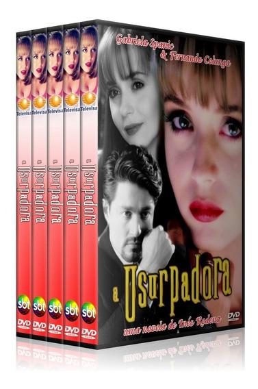 Novela A Usurpadora 28 Dvds Completa + Más Allas ,lindo Box!