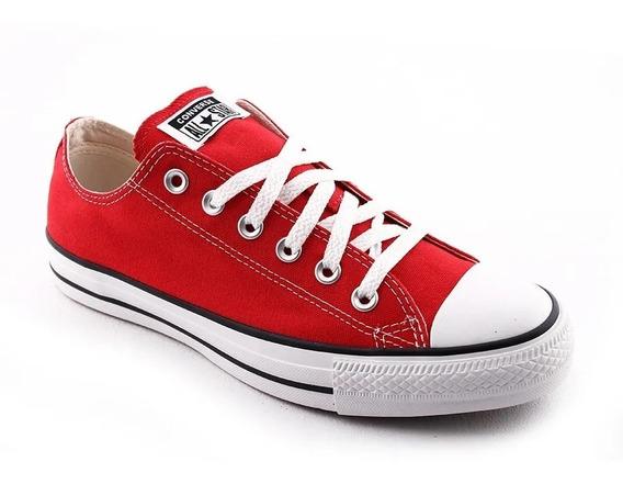 Zapatillas De Hombre Converse Chuck Taylor Rojo Originales