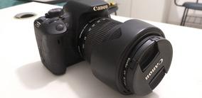 Câmera T5i - Lente 18-135 - Carregador + Bateria Extra