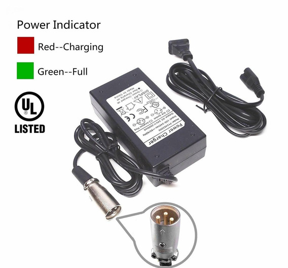 Eptech 24v 2a Scooter Battery Charger For Jazzy Power Chair,