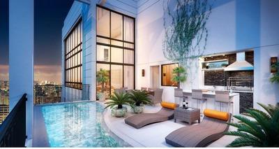 Cobertura Com 5 Dormitórios À Venda, 588 M² Por R$ 18.105.456 - Vila Olímpia - São Paulo/sp - Co0032
