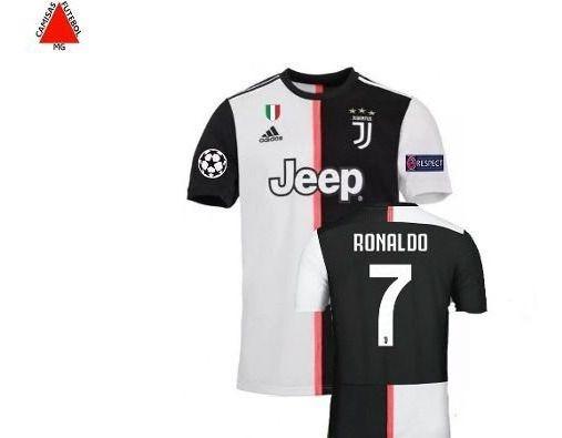Camisa Juventus 2019/2020 Oficial Champions - Pronta Entrega