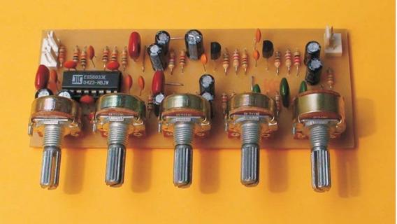 Pre Amplificador Tons, Câmara De Eco E Dalay Em Arquivo!