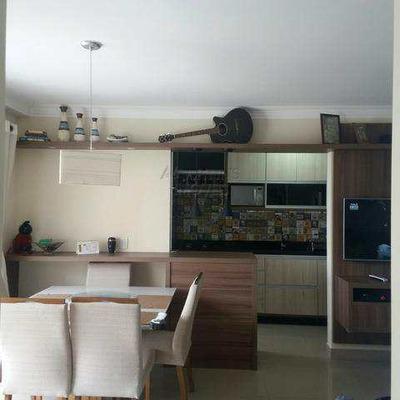 Residencial Scalla   Apto 60 M² Mobiliado 2 Dorms 1 Vaga - V5854