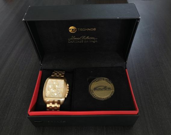Relógio Technos - Capitães Da Taça - Carlos Alberto Torres