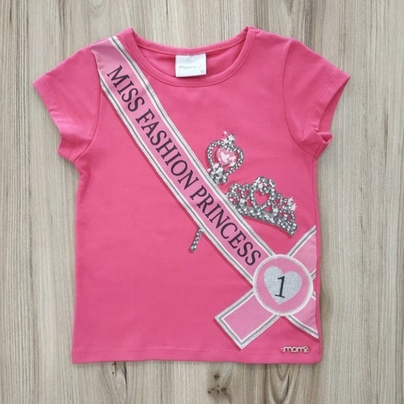 Blusa Miss Pink Momi F7740