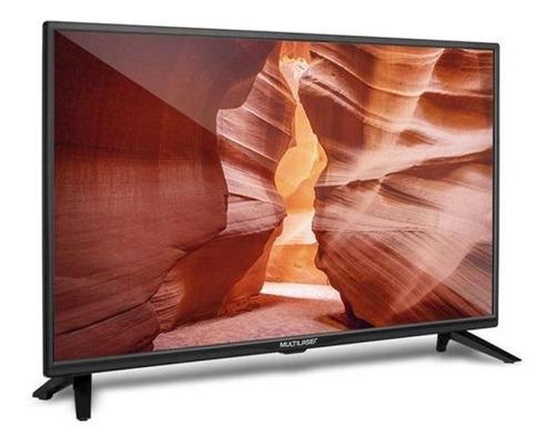 Tv Led Monitor Multilaser 24 Hdmi Usb Conversor Tv Digital