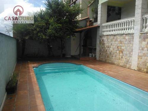 Casa À Venda, Mangabeiras, Belo Horizonte. - Ca0034
