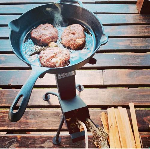 Verano Camping - Ecohornalla Cocina Portatil, Supervivencia