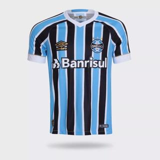 Camisa Grêmio 1 Umbro 2017 Masculina - 10224