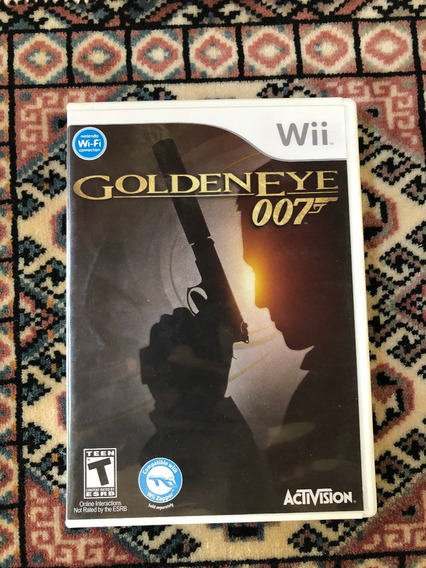 Goldeneye 007 - Wii/wiiu - Americano E Original
